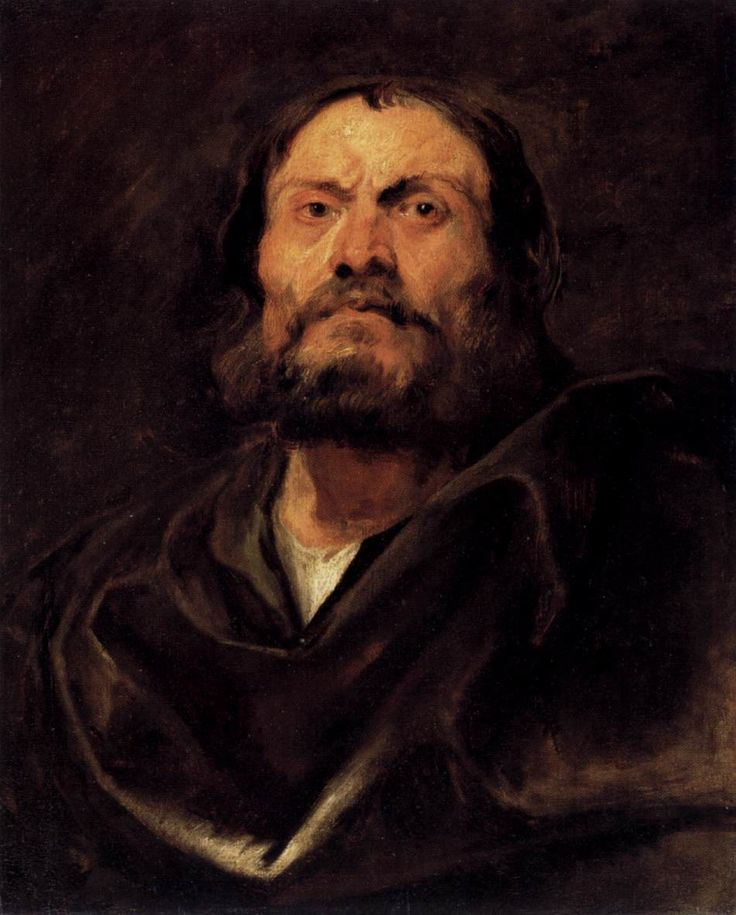 An Apostle - Anthony van Dyck, 1618, oil on canvas