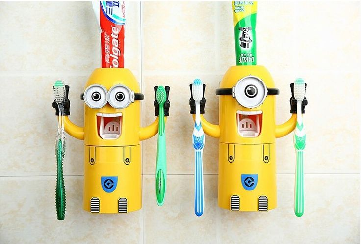 2016 Newest Products Cute Design Set Cartoon Yellow doll Minions Toothbrush Holder Automatic Toothpaste Dispenser Toothpaste♦️ B E S T Online Marketplace - SaleVenue ♦️👉🏿 http://www.salevenue.co.uk/products/2016-newest-products-cute-design-set-cartoon-yellow-doll-minions-toothbrush-holder-automatic-toothpaste-dispenser-toothpaste/ US $6.09
