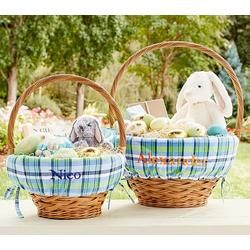 Best 25 monogrammed easter baskets ideas on pinterest delight and surprise the family this year with pottery barn kids easter baskets for girls and boys negle Image collections