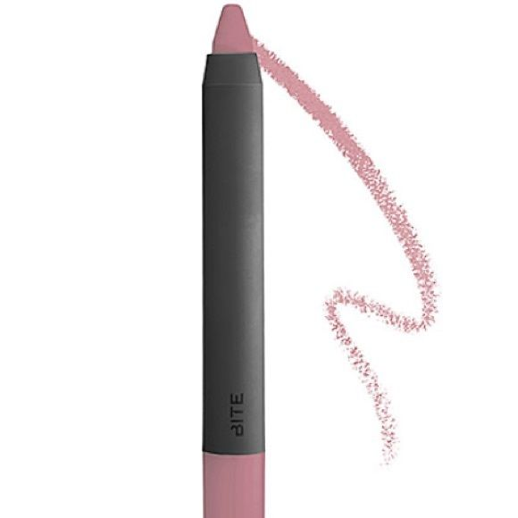 Bite Beauty high pigment pencil MADEIRA- NEW! Bite Beauty high pigment pencil MADEIRA- NEW! Travel sized- 1.4 grams. This is a pretty nude pink lip color. I love this company! Their cosmetics have no parabens, sulfates, or phlatates. Plus it's all cruelty free! Price FIRM unless bundled! Bite Beauty Makeup Lipstick