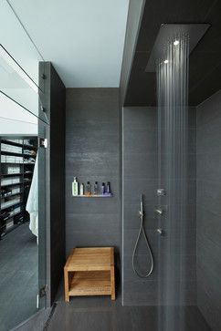 Houzz - Modern Bath Design Ideas, Pictures, Remodel and Decor - Lena Modern Home - Mario Romano
