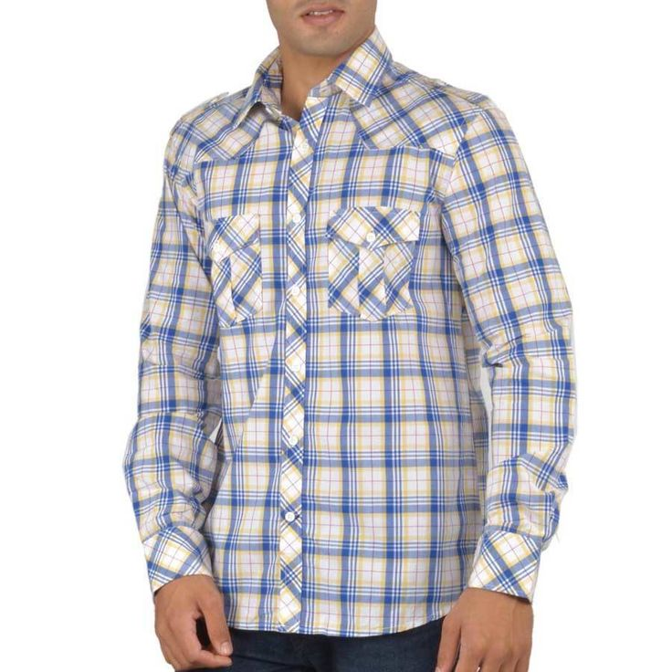 US Polo Blue Check Shirt
