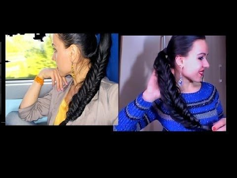 TUTORIAL:HAIRSTYLE/Acconciatura coda intrecciata a spine di peste