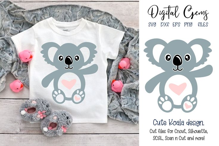 Download Koala SVG / PNG / EPS / DXF Files | Svg files for cricut ...