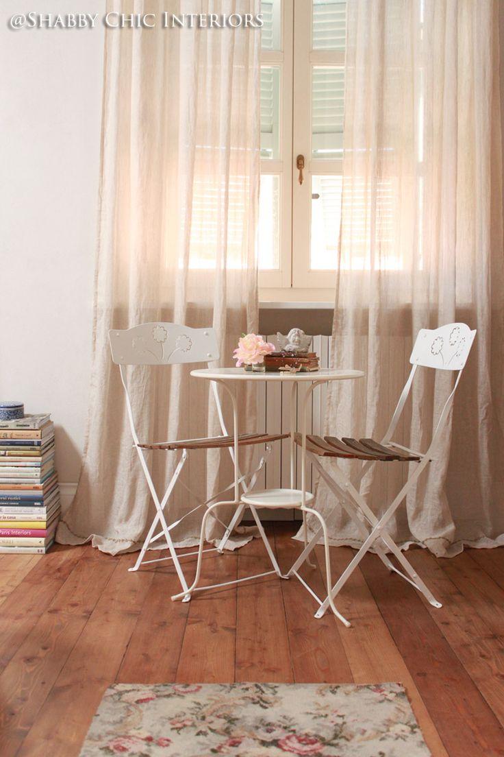 Shabby Chic Interiors: My Home -pretty bistro setting
