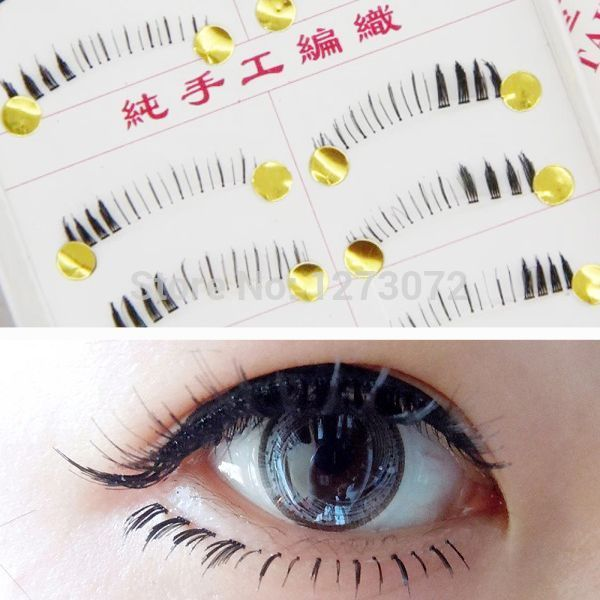 $1.60 / piece 送料: FreeCheap lash mascara, Buy Quality eyelash supplier directly from China lash extender Suppliers:                Features:      Black lower false eyelashes (100% Brand new)Natural lashes (Soft lashes an
