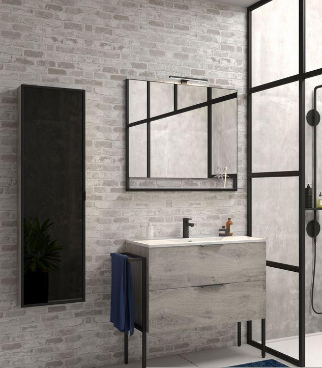 meuble salle de bain fabrik 104 cm