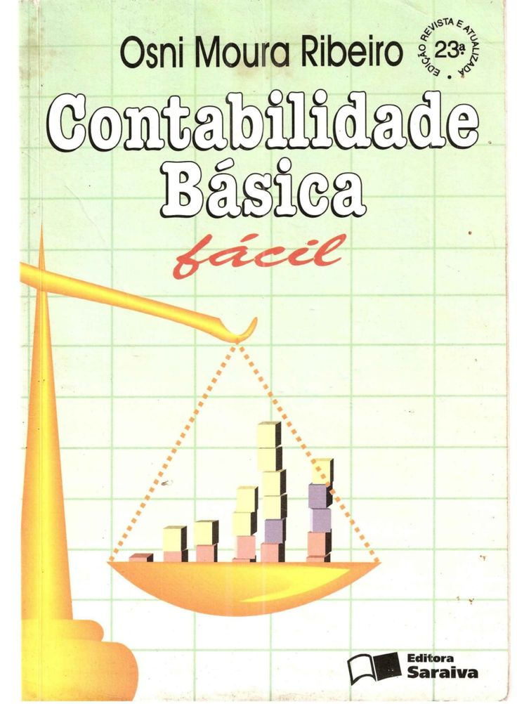 Contabilidade   básica fácil - 001 a 302 - osni moura ribeiro  by Adriana Contabilidade Etec via slideshare
