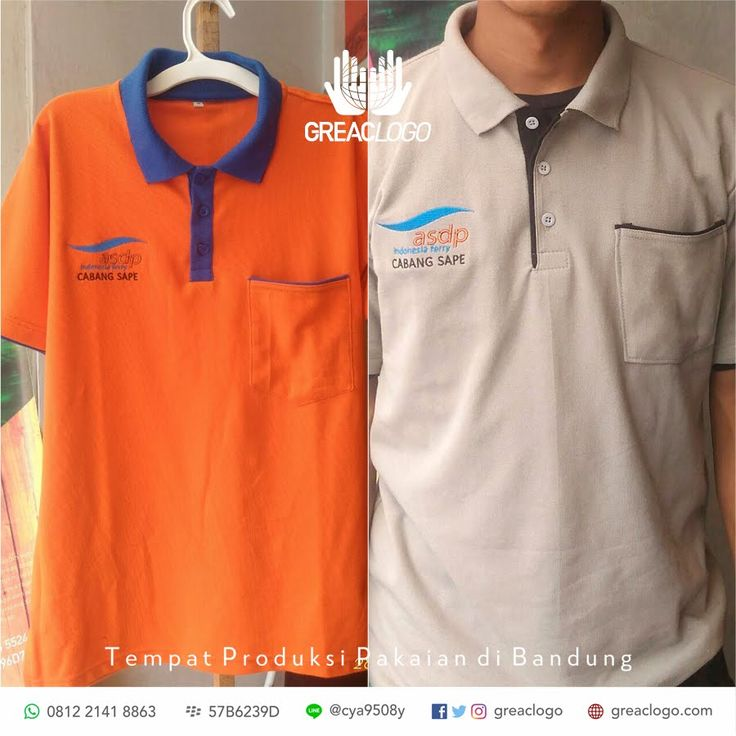 Polo ASDP Indonesia Ferry / http://greaclogo.com  / Konveksi Bandung / 0812 2141 8863 / BB : 57B6239D / LINE @cya9508y #ferry #poloshi...