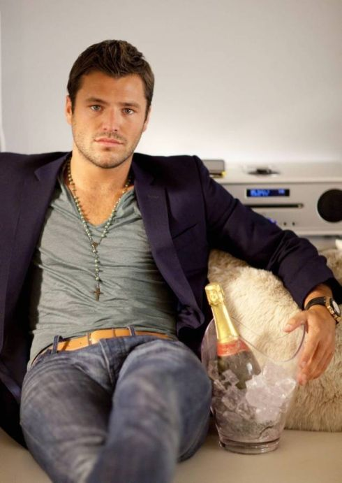 Mark Wright, like this modern pose, how marks mouth is set, very good and the slight shadow over his face ;0) x