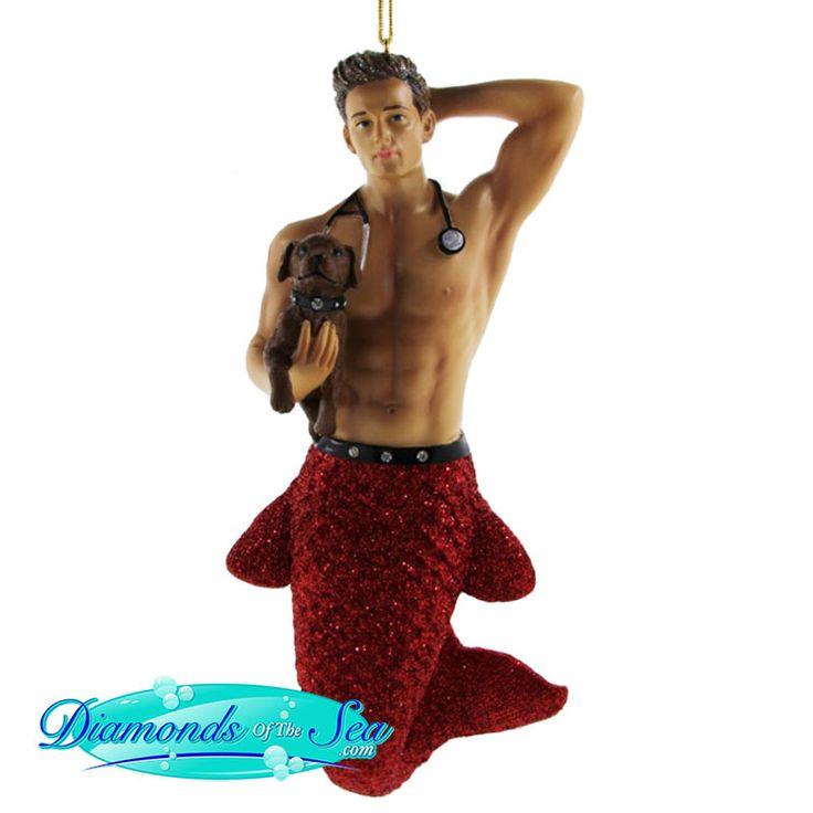 49 best Merman Ornaments images on Pinterest | Christmas ornament ...
