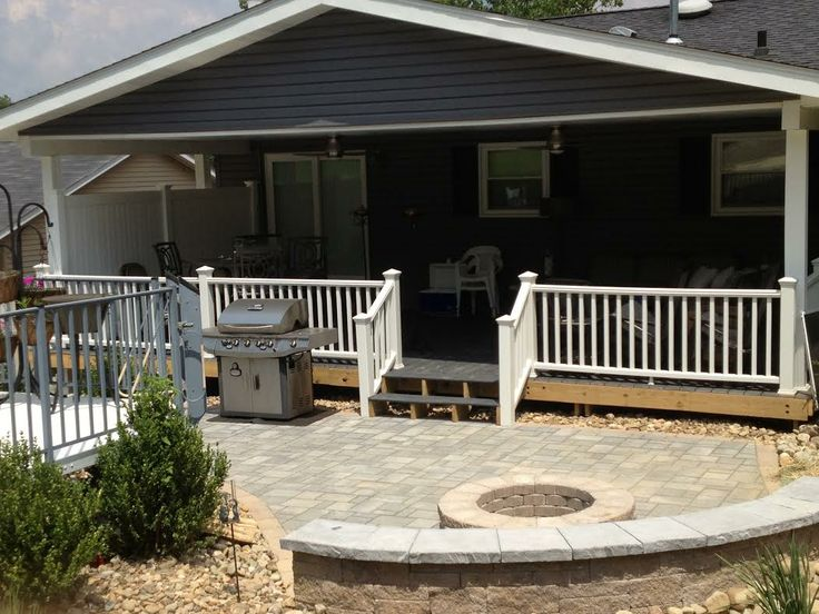 Porch Roofs Over Decks | Zekeu0027s Outdoor Services Pittsburgh
