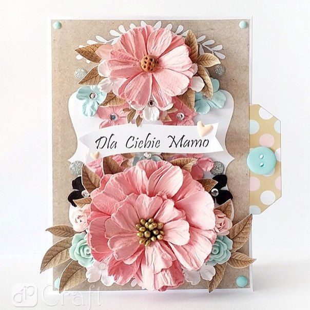 открытки скрапбукинг розовый идеи - Поиск в Google