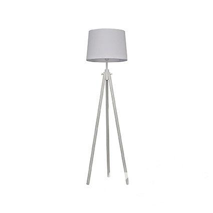 York lampa podłogowa stojąca 1x60W E27 biała