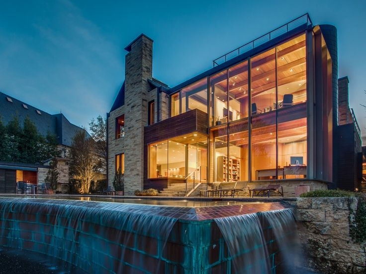 The Glen Abbey Glass House is a Dallas Architectural Icon   CandysDirt.com