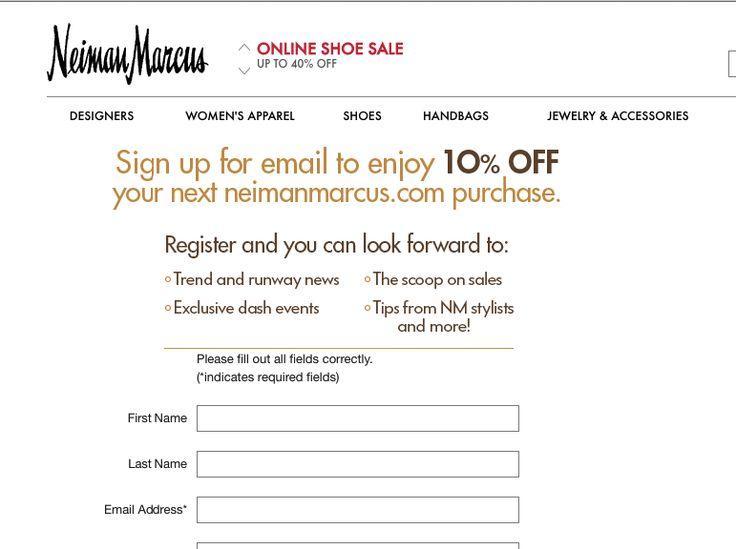 Get A 10% Off Neiman Marcus Coupon