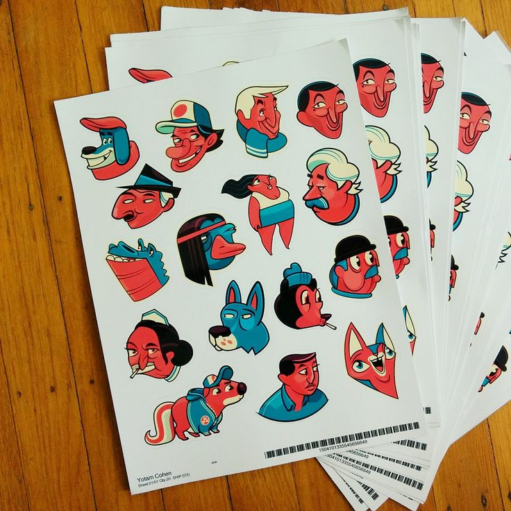 Stickers! on Behance