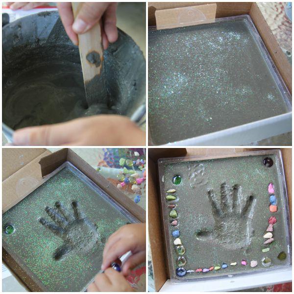 Fun stepping stone craft! @Whitney @ It's Gravy, Baby! #summerofjoann