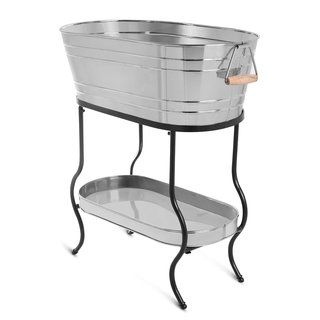 Shop for BirdRock Home Stainless Steel Beverage Tub with Stand and more for everyday discount prices at Overstock.com - Your Online Kitchen