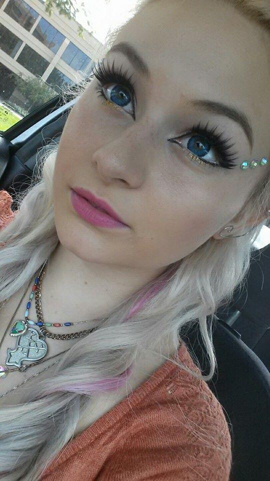Elf makeup I did for the Renaissance Festival a few days ago. :)