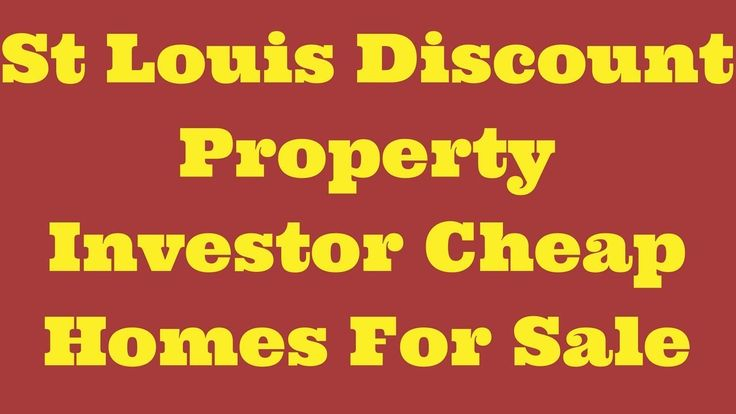 St Louis Discount Property Investor Cheap Homes For Sale...#realestateinvesting #flippinghouses #flippinghomes #stlouisrealestate