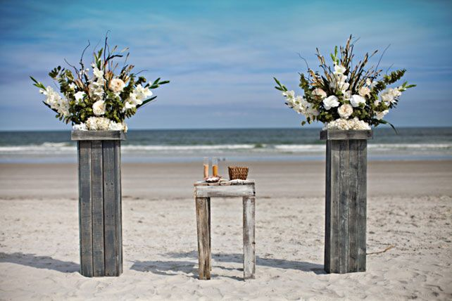 морская свадьба, церемония