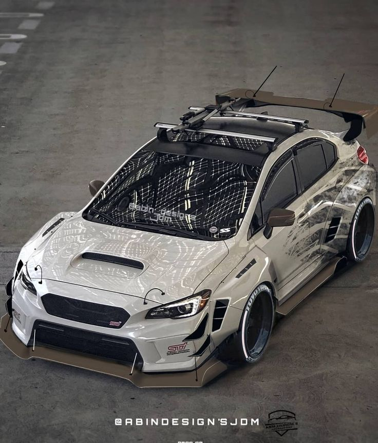 Subaru custom widebody design Owner @vlcsnrs @widebodysubies @subaru_usa @elite_…
