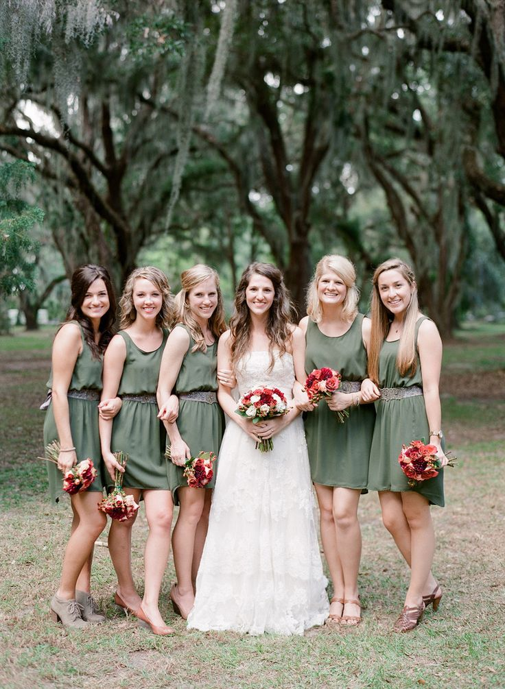Beautiful Bridesmaids Dresses For Autumn|Photography Mi Amore Foto: