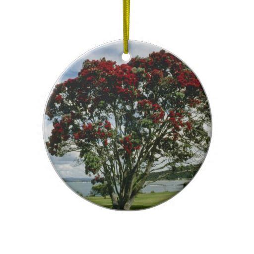 Waitangi, Christmas Tree, New Zealand flower Ornament