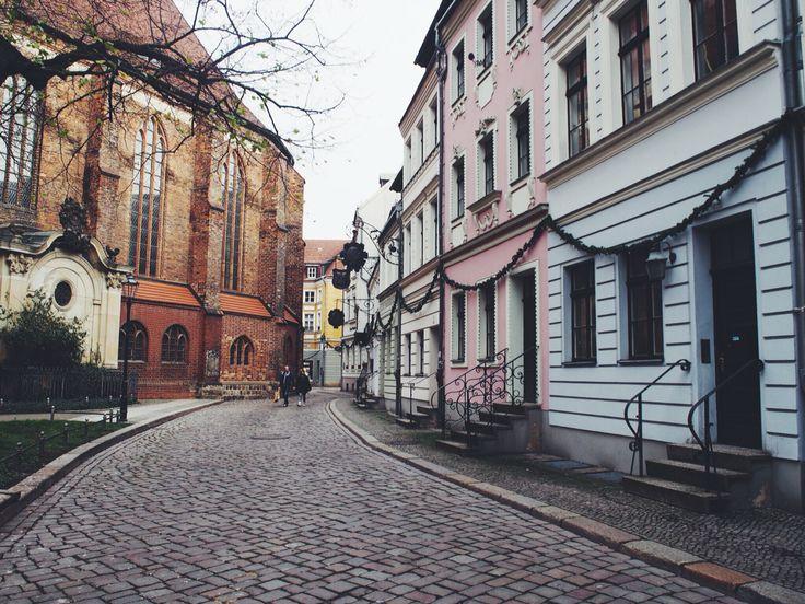Beautiful Nikolai quarter at berlin