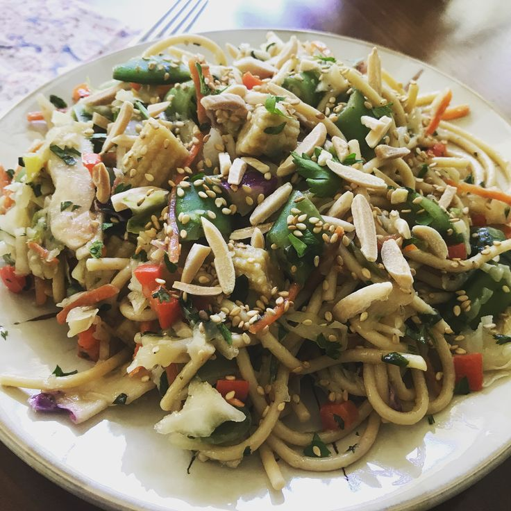 Oriental Noodle Salad - Catering by Debbi Covington - Beaufort, SC