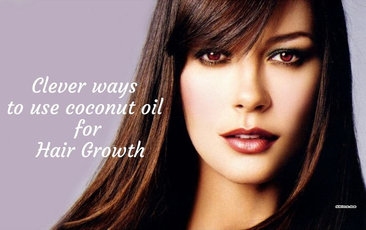 Clever ways to use coconut oil for hair growth