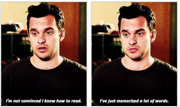This was my first episode of New Girl. And I. Am. Hooked. I love it!! <3