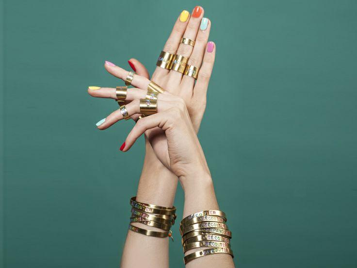 Bijoux et vernis : la collaboration ultra cool de L'Exception et Nailmatic #grazia #magazine