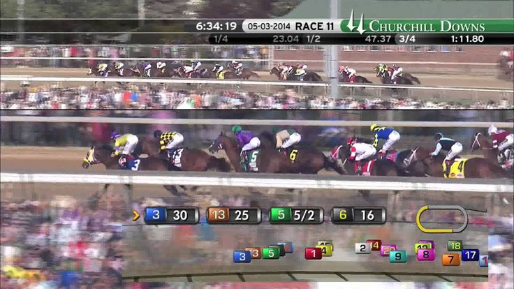 140th Kentucky Derby (2014) - The Race, and once again the least likely wins the Derby.