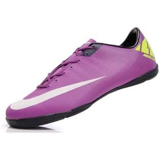http://www.asneakers4u.com New Mens Soccer Shoes Football Boots Nike Mercurial Superfly III FG Indoor Purple/Fluorescent/Green
