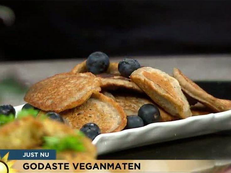 Havrepannkakor med banan | Recept.nu