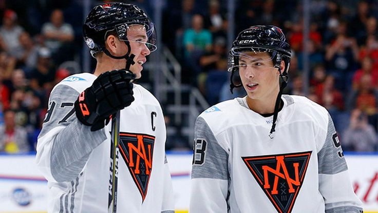 Edmonton's Ryan Nugent-Hopkins joining the Oilers centre in Toronto for the international tournament.