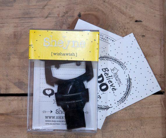 sale! black Kitchen hand towel holder. FREE SHIPPING hook rack magnet Japanese doll- Magnet hook for hanging a towel on the refrigerator