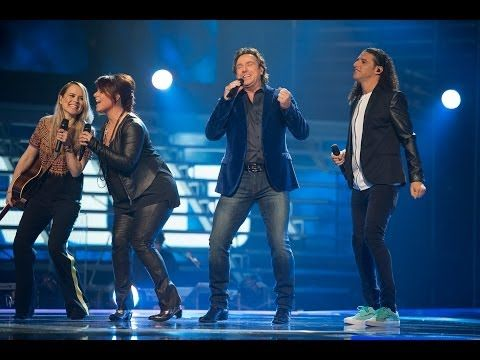 Opening coaches (The voice of Holland: Liveshow 1) - YouTube
