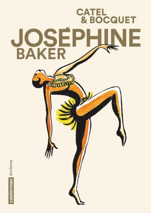 Un portrait de femme passionnant. J'aurais aimé la rencontrer #Josephine #Baker #Casterman BD : Le fabuleux roman de Joséphine Baker
