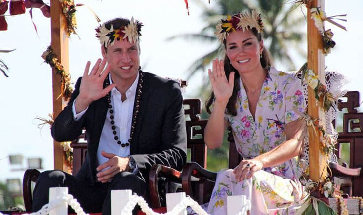 William and Kate to receive highest Tuvalu award for just going there | Royal | News | Express.co.uk