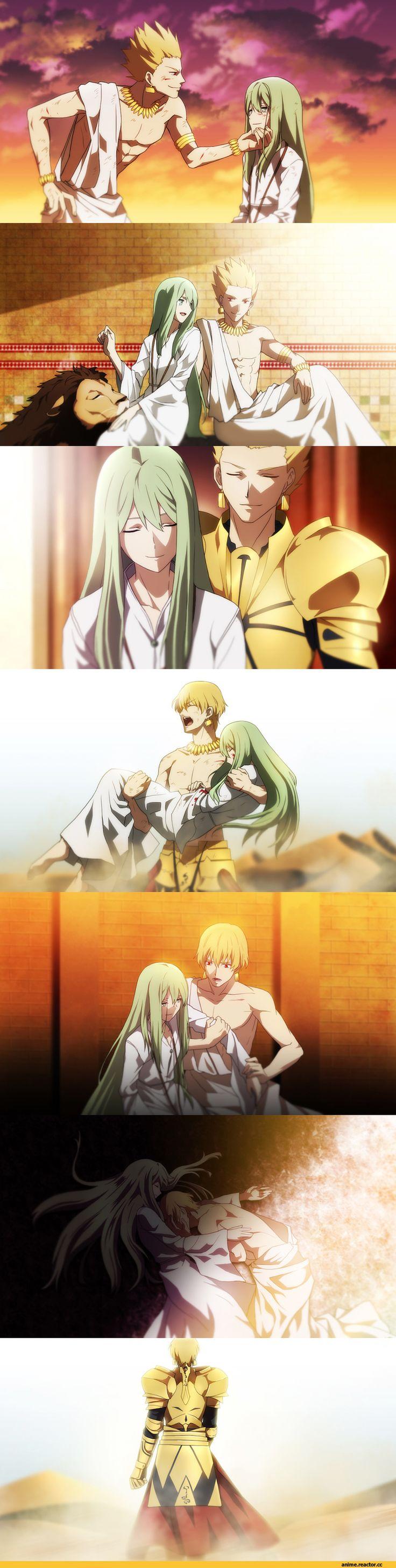enkidu (fate/strange fake),Gilgamesh (Fate),Fate (series),Fate (srs),Anime,аниме