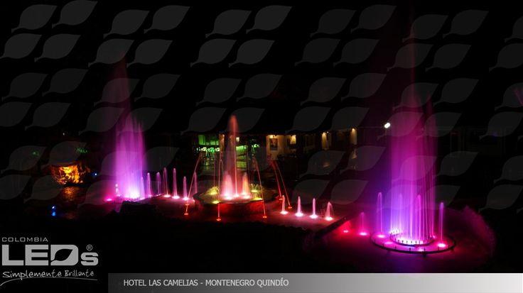 Proyecto de Iluminación|Hotel Las Camelias Montenegro - Quindio
