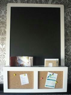 Ikea LUNS-  I like the cork idea too. Could put burlap over the cork even!