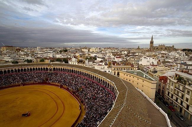 Tarde de toros. La Maestranza. Sevilla