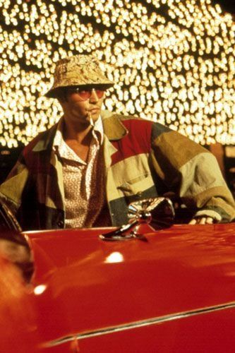 The pschedelic imagery, structure and narration  littered all over Fear and Loathing are things I'll have to explore later in my career, but the expressive use of colour and costume are features I can mirror in this project.