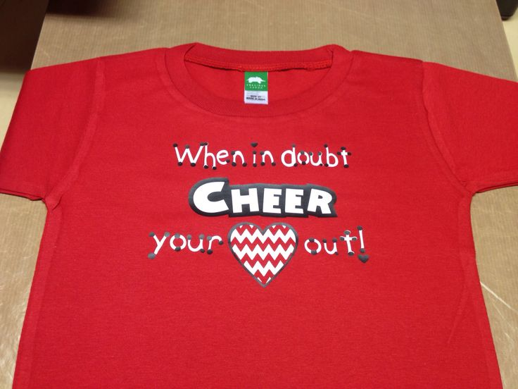 Mini Cheer Camp Shirt.