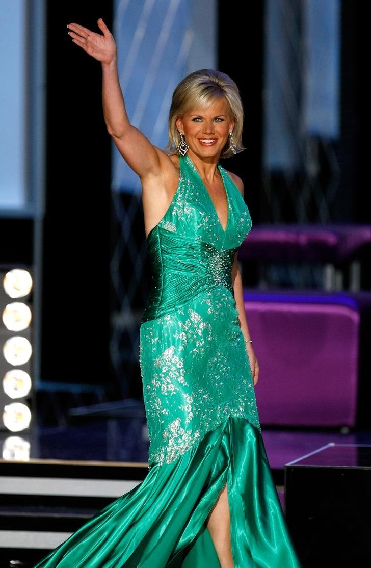 Miss America 1989 and FOX News correspondent Gretchen Carlson