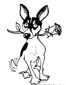 coloring pages of rat terriers - photo#5